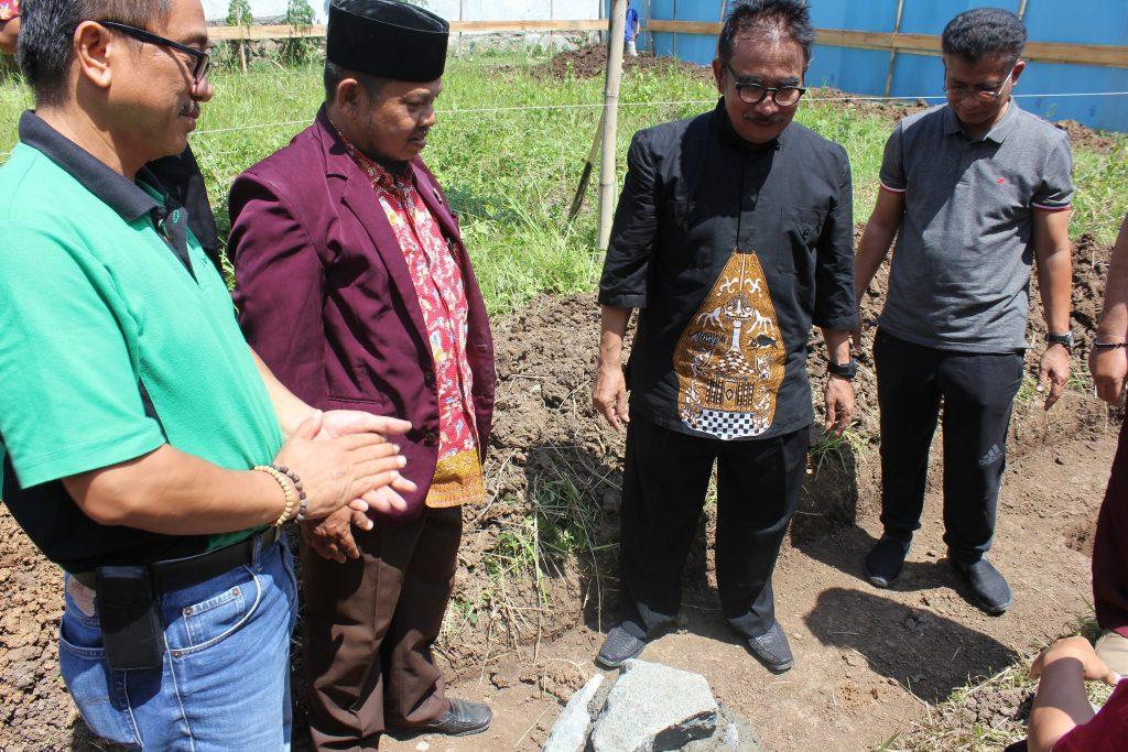 Bupati Tegal Letakan Batu Pertama Pembangunan Gedung PPNI