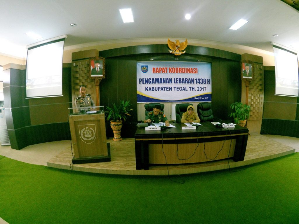 Wakil Bupati Tegal Pimpin Rakor Pengamanan Lebaran 1438 H