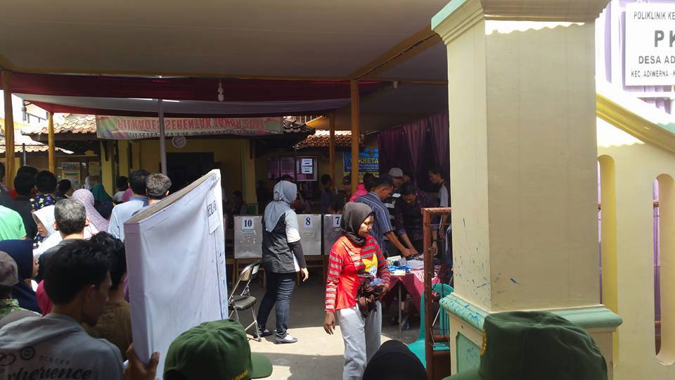 Pilkades Serentak 2017 Kabupaten Tegal Sukses Digelar