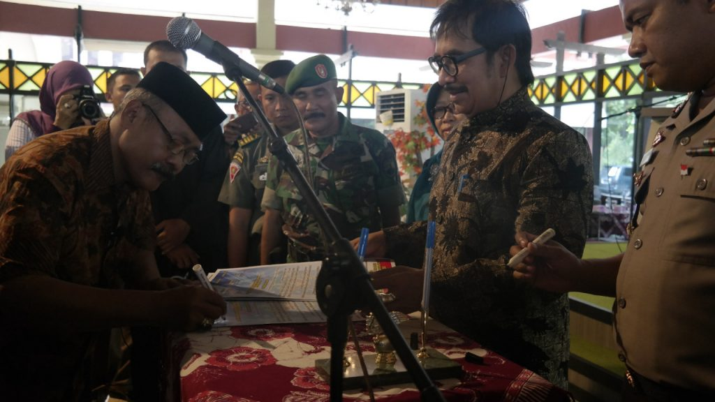 Jelang Pilkades Serentak, 181 Calon Kades Ikuti Deklarasi Damai