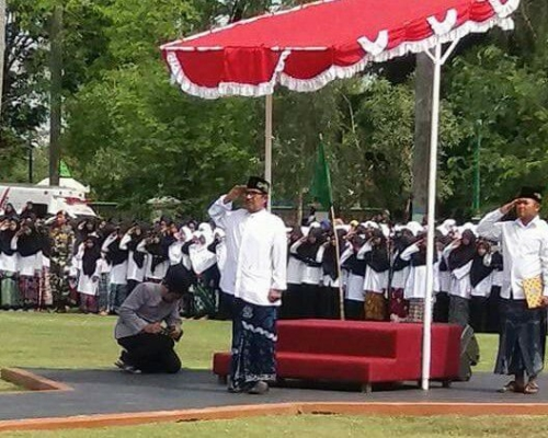 Pemkab Tegal Gelar Apel Akbar Hari Santri Nasional Tahun 2017