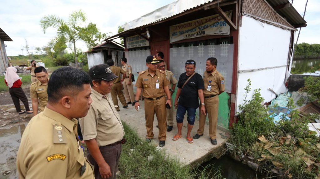 Agenda Padat, Pjs Bupati Tegal Tinjau Daerah Rawan Banjir