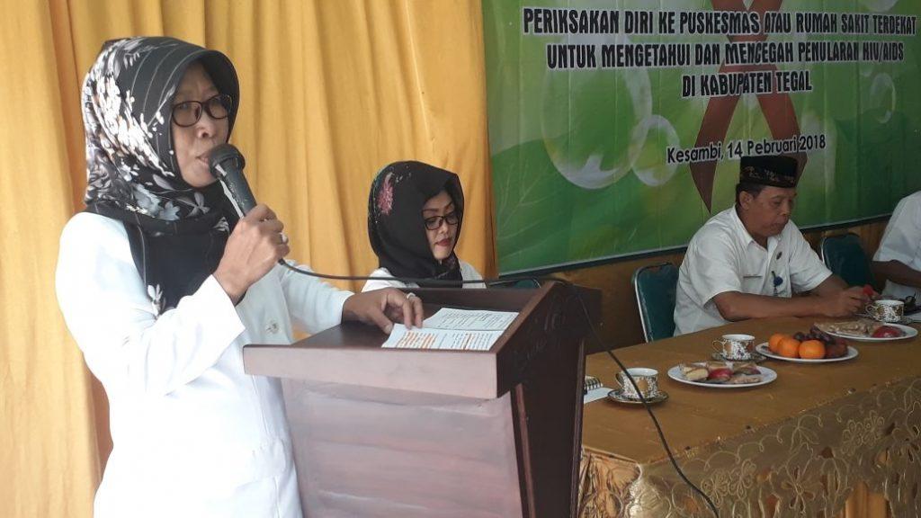 Cegah Penyebaran HIV/AIDS, KPA Kabupaten Tegal Gelar Penyuluhan